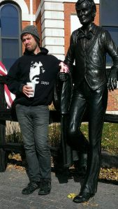 Me and Lincoln.