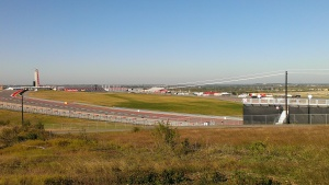 Formula One Race Track (view from Platinum Retreat Camp Site)