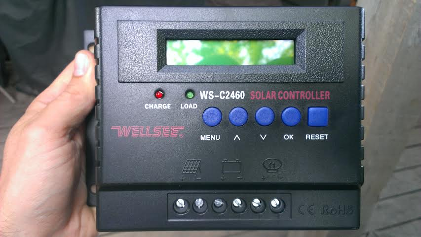 60V Charge Controller