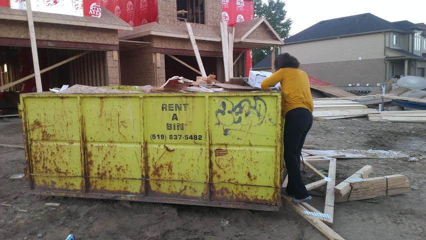 New Home Construction: We can make houses out of what you throw away!